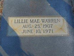 Lillie Mae Warren