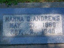 Bertha Johanna <I>Jensen</I> Andrews