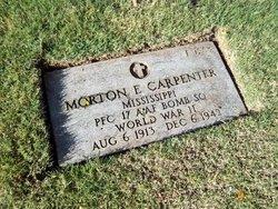PFC Morton E Carpenter