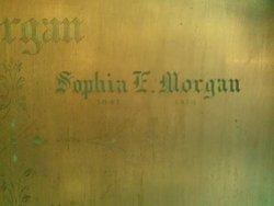Sophia Eleanor <I>Crellin</I> Morgan