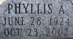 Phyllis A. <I>Goss</I> Boggess