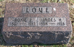 Roxie Jane <I>Steele</I> Love