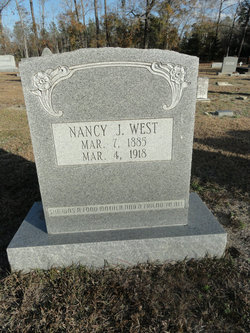 Nancy Jane <I>Todd</I> West