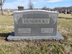 Carrie B. <I>Tyer</I> Hendricks