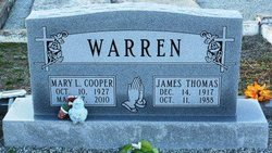 Mary L. <I>Cooper</I> Warren