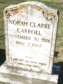 Norah <I>Clarke</I> Carroll
