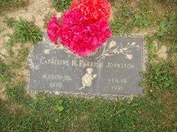 Catherine H. <I>Parish</I> Johnston