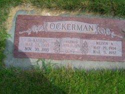Dorothy Matilda <I>Yancey</I> Ockerman