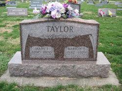 Mary Isbelle <I>Newberry</I> Taylor