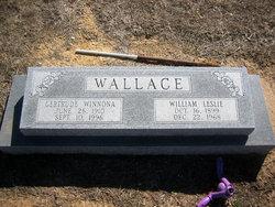 Gertrude Winnona <I>Parr</I> Wallace