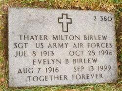 Thayer Milton Birlew