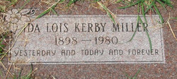 Ida Lois <I>Kerby</I> Miller