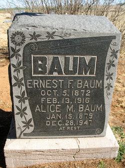 Ernest F Baum