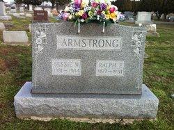 Bessie <I>Wooldridge</I> Armstrong