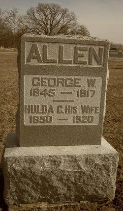 Hulda Catherine <I>Rambo</I> Allen