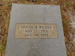 Hattie B <I>Jackson</I> Wilder