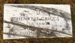 Henry T Griggs