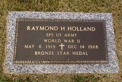 Raymond H Holland