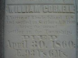 William Cornell