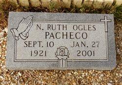 Nellie Ruth <I>Ogles</I> Pacheco