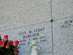 Elva Marie <I>Ledet</I> Babcock