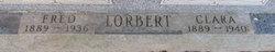 Clara <I>Lochman</I> Lorbert