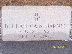 Beulah <I>Cain</I> Barnes