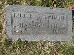Lillie <I>Dinwiddie</I> Frieze