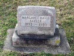 Margaret <I>Roll</I> Sayler