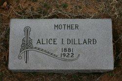 Alice Idell <I>Speer</I> Dillard