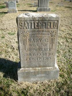Mary C. <I>Satterfield</I> Clark