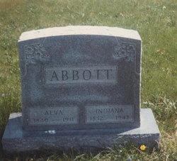 """Indiana """"Anna"""" <I>Smith</I> Abbott"""