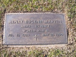 """Henry Eugene """"Gene"""" Martin"""