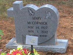 Mary Elizabeth <I>MaCully</I> McCormick