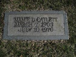 Mamie <I>Davis</I> Catlett