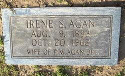 Irene <I>Sanders</I> Agan