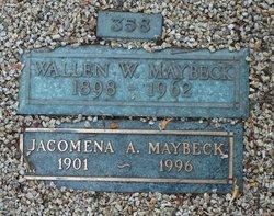 Jacomena Adriana <I>Van Huizen</I> Maybeck
