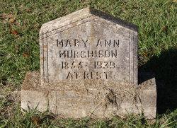 Mary Ann <I>Bynum</I> Murchison