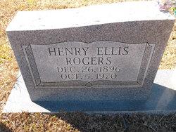 Henry Ellis Rogers