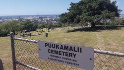 Pu'ukamali'i Cemetery