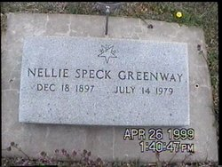 Nellie H. <I>Speck</I> Greenway