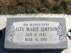 Alta Marie Simpson
