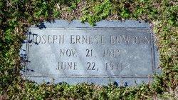 Joseph Ernest Bowden
