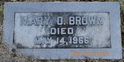 Mary Ossian Brown
