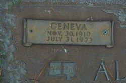 Geneva Rae <I>Bell</I> Allender