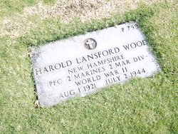 PFC Harold Lansford Wood