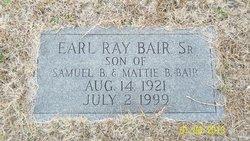Earl Raymond Bair