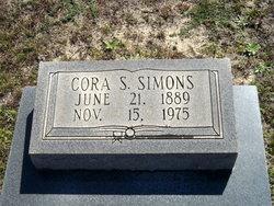 Cora Lee <I>Thrift</I> Simons