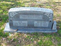 Beulah McAdams