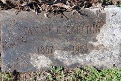 Fannie C <I>Collier</I> Carlton